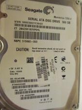 500 gb Seagate st9500420as p/n 9hv144-022 006hpm1 wu Disque dur Thin disc x145
