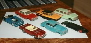 Lot Miniatures anciennes au 1/43  a restaurer  ( Dinky, Norev )