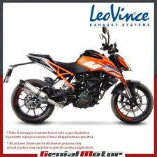 KTM DUKE 125 2017 17 LEOVINCE AUSPUFF LV ONE EVO EDELSTAHL 14185E