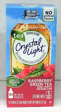 Crystal Light On The Go Raspberry Green Tea Drink Mix .96 oz