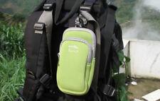Universal Zipper Mobile Phone Bag Case Belt Loop Hook Pouch Camping Hiking