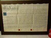 1820 Lease Indenture STOCKTON ON TEES Atkinson Frank Harburn Surnames  #S13