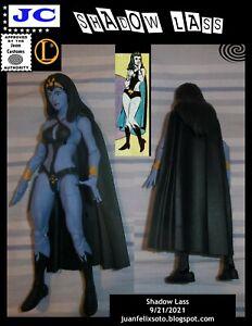SHADOW LASS, DC Universe/ Marvel custom figure Legion of Superheroes