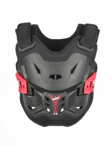 NEW LEATT 2.5 KIDS CHEST PROTECTOR BLACK RED CHILD ROOST MOTOCROSS ARMOUR BMX