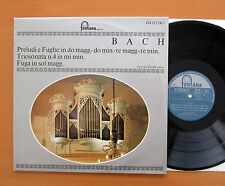 Bach Prelude & FUGA IN RE MINORE etc Christoph Albrecht Organo FONTANA 894 125 ZKY