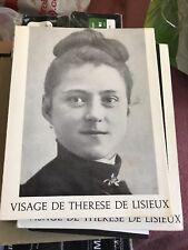 Visage de Therese De Lisieux 2 books
