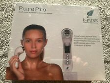 PurePro  Colour LED Cleanser Galvanic Microvibratration Ultrasonic Face Therapy