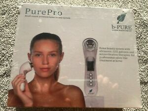 NEW PurePro LED Cleanser Galvanic Microvibratration Ultrasonic Face Therapy