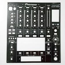 FOR Pioneer DJM800 Main Faceplate DNB1144 Fader Panel Replace Plates