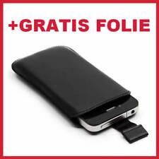 Apple iPhone 5   Slim Tasche Hülle Etui Schutzhülle +Folie
