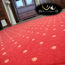 MODERN & CHEAP & QUALITY CARPETS Feltback 'CHIC' red Bedroom Large RUG ANY SIZE
