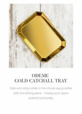 New Odeme Ring Dish Catchall Tray Gold Zoe Report Box of Style Jewelry Popsugar