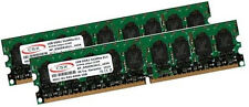 2x 1GB 2GB DDR2 ECC Unbuffered 533Mhz RAM Speicher 533