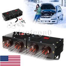 Dc12V 300W Car Travel Heater Warmer Thermostat Fan Window Defroster Demister Usa