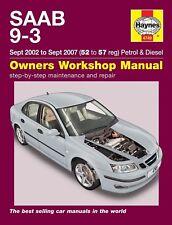 Réparation Manuel/Guide-Saab 9-3 2003, 2004, 2005, 2006 et 2007