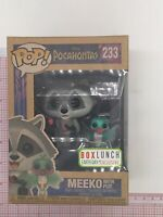 Funko Pop! Disney Meeko with Flit #233 Pocahontas Box Lunch Exclusive B01