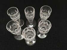 Waterford Crystal Colleen Liqueur Glasses - 1oz