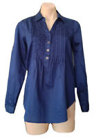 FOREVER NEW SIZE 8 COTTON SHIRT TOP AS NEW