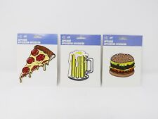 C&D Visionary Fabric Iron-On Food Appliques - New