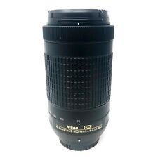 Nikon Nikkor 70-300mm f4.5-6.3G ED lens