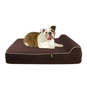 KOPEKS Large Dog Bed for Large Dogs with Memory Foam Orthopaedic 89 x 71 x 14...