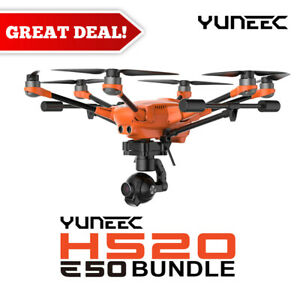 Yuneec H520 + E50 System | H520 airframe, E50 3-axis Gimbal Camera, ST16S & more