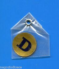 """KICA - Sorprese Decalcomania Figurina-Sticker anni 60 - LETTERA """"D"""" TONDA"""