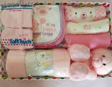 New Baby Pink Gift Set With Spotty Box 35x24x8cm