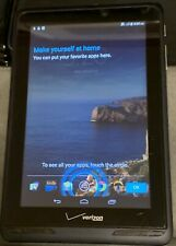 "Verizon Ellipsis QMV7B 7"" HD 8GB Android WiFi Tablet great condition 4G LTE"