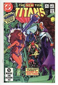 New Teen Titans #23 (DC 1982) NM- 9.2 1st appearances Blackfire & Vigilante
