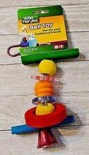 Wild Harvest Bird bell toy new