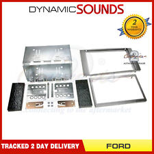 CT23FD04 Silver Double Din Fascia Surround Kit For Ford S-Max 2006 Onwards