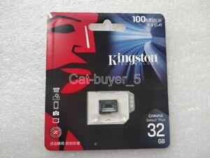 Kingston 32GB Phones Camera Drone Surveillance High Speed Memory Card MicroSD