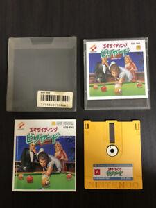 Exciting Billiards Konami 1987 Nintendo Famicom Disk System Japanese Version