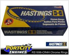 Hastings Chrome Piston Ring Set Holden 4cyl Astra JD Nissan Pulsar 18LE RS1696