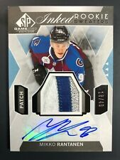 2015-16 SP Game Used Mikko Rantanen Inked Rookie Sweaters Auto /49