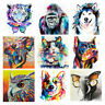 DIY Paint By Number Acrylic Oil Painting Art Animal Scenery Wall Home Decor