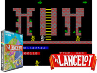 Sinclair ZX Spectrum 48K Game - SIR LANCELOT - Melbourne House - Tested