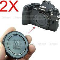 2x Camera Body Cover Cap for Olympus Micro Four Thirds M4/3 PEN E-PL6 E-PL7