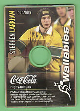 #D569.  STEPHEN LARKHAM  RUGBY UNION COCA COLA CD ROM CARD #9