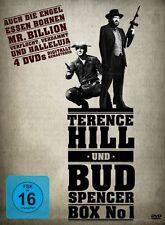 4 DVD´s - Terence Hill & Bud Spencer - Box 1 (2011)-- NEU ---
