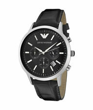 Emporio Armani Men's Quartz (Battery) Round Wristwatches