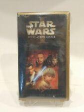 Star Wars I The Phantom Menace VHS Collectors Edition 3D Cover FACTORY ERROR