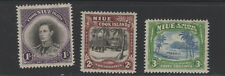 NIUE #73-75 mint hinged  Cook Islands