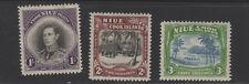 NIUE #73-75 mint hinged  Cook Islands