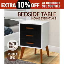 Modern Bedside Tables with 3 Drawers