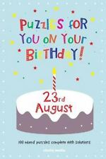 Puzzles for You on Your Birthday - 23rd August by Clarity Media (2014,...