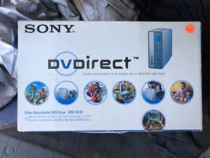 NEW Sony DVDirect Video Recordable DVD Drive VRD-VC10 DVD Recording NOB