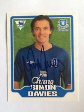 Merlin FA Premier League 2006 Sticker #202 Simon Davies - Everton