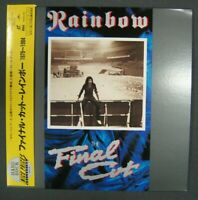 RAINBOW The Final Cut 1985 videos collection Japanese Laserdisc w/obi Blackmore